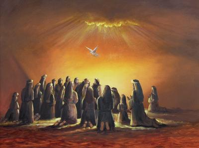 Resultado de imagem para descida do espirito santo